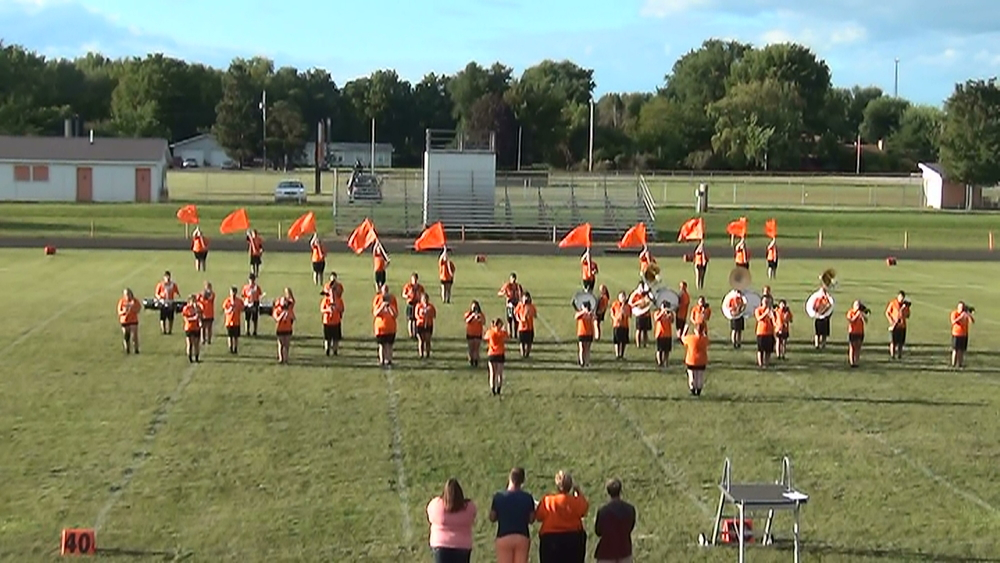 Band Camp Kicks Off with 45  Students Participating