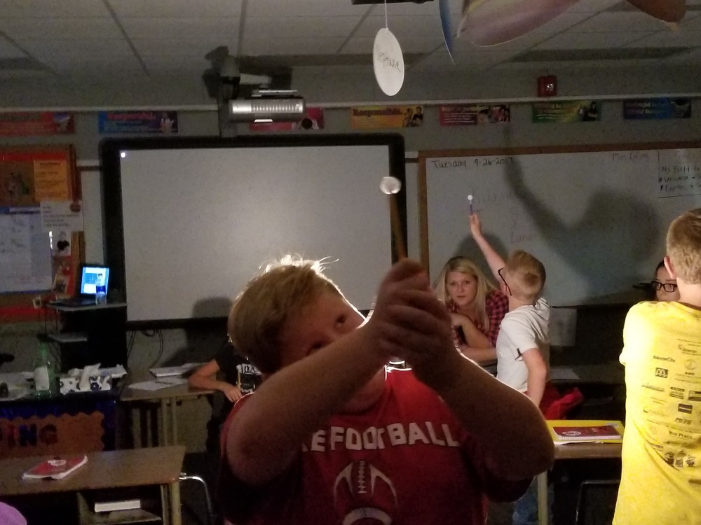 Moon Lollipops In 7th Grade Science Class