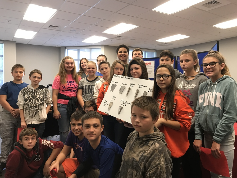 DACC Hosts Manufacturing Day for WJHS Students