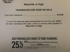 WJHS 2017-2018 Yearbooks are for sale!