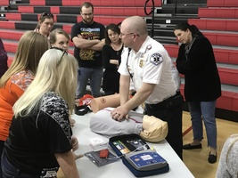 District Hosts Emergency First Aid Training