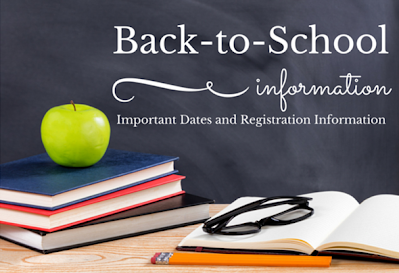 Back to School Registration Information