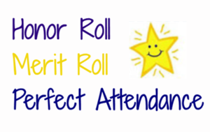 Westville Junior High School First Quarter High Honor Roll, Honor Roll and Perfect Attendance