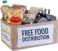 Food Distribution May 11 - 15