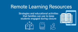 Remote Learning April 13 - 17