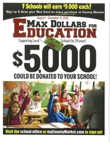 Max Card Dollars for Education