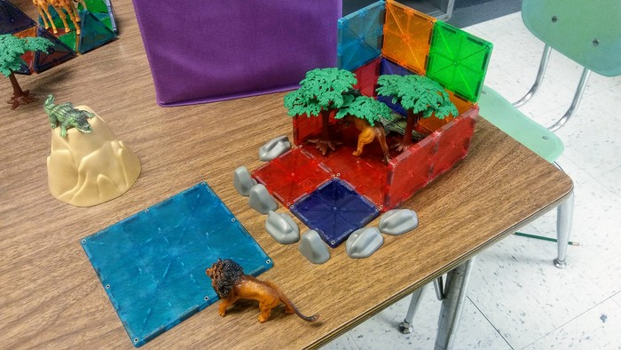 Using math to construct a zoo and an aquarium!