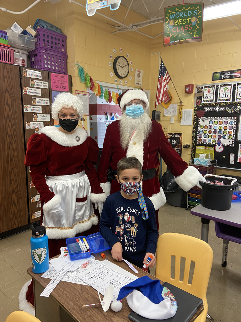 Visit from Santa and Mrs. Claus
