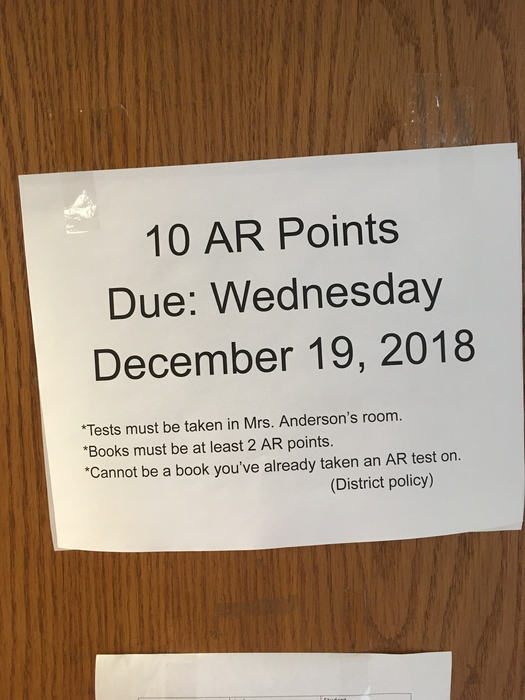 Get your AR points in!!