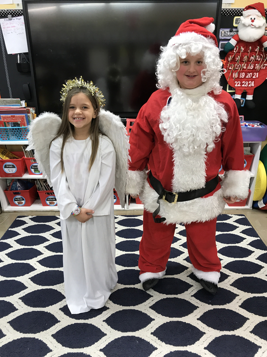 Santa and my Angel