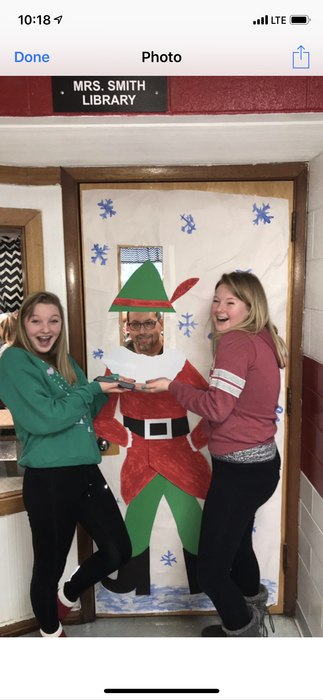 #WEAREWJHS! Having a little Christmas fun.