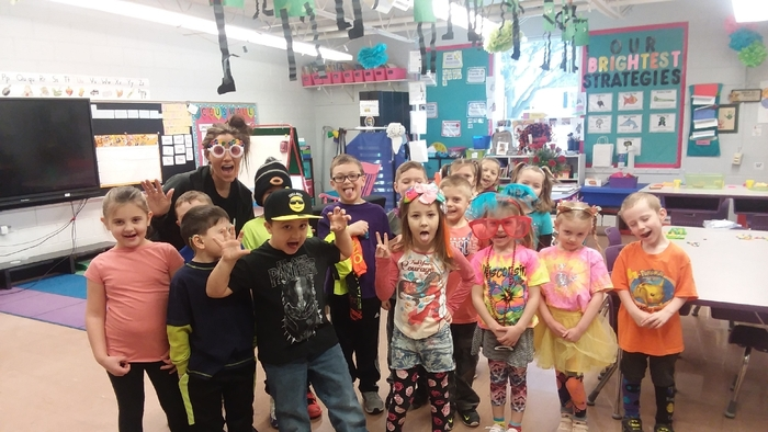 It's a Wacky Day in K!!!!