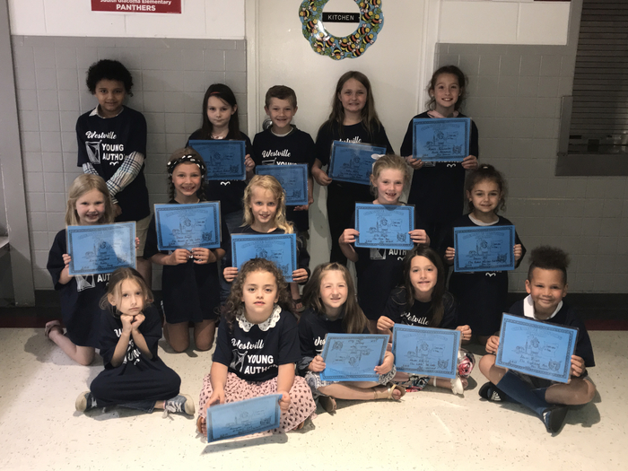 Congratulations K-2 Young Author Winners