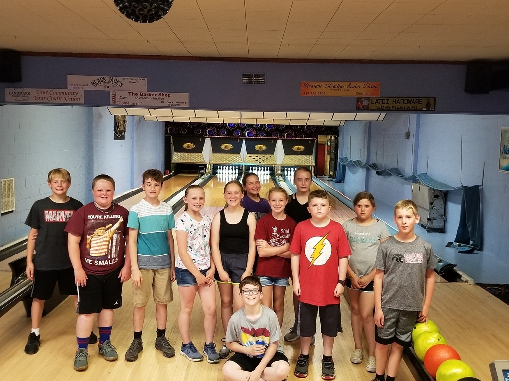 Fun at the bowling alley!
