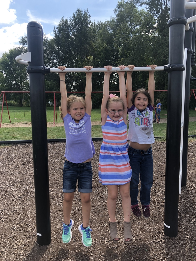 Hanging with some friends at recess!