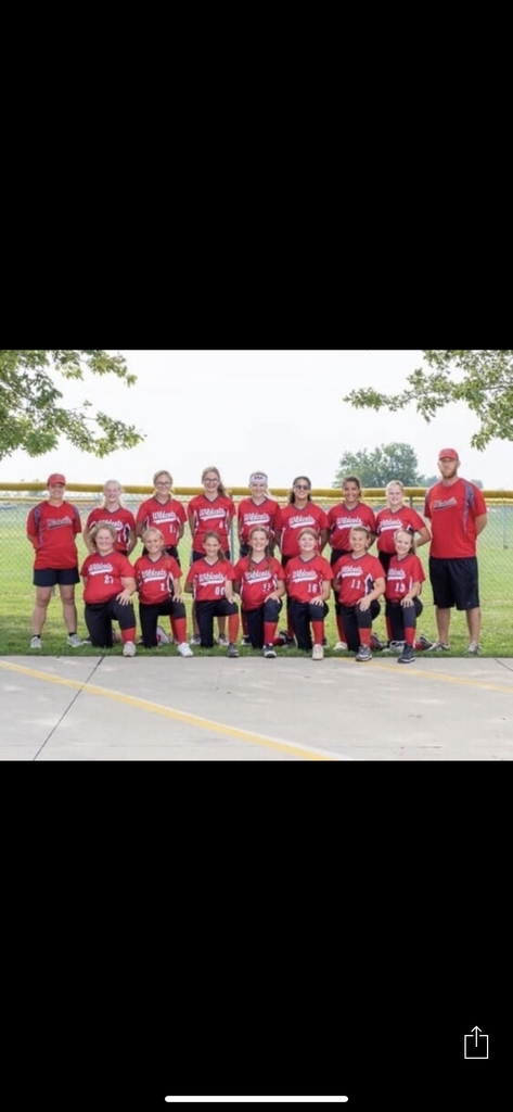 Jr. High Softball Girls.....State Bound!!