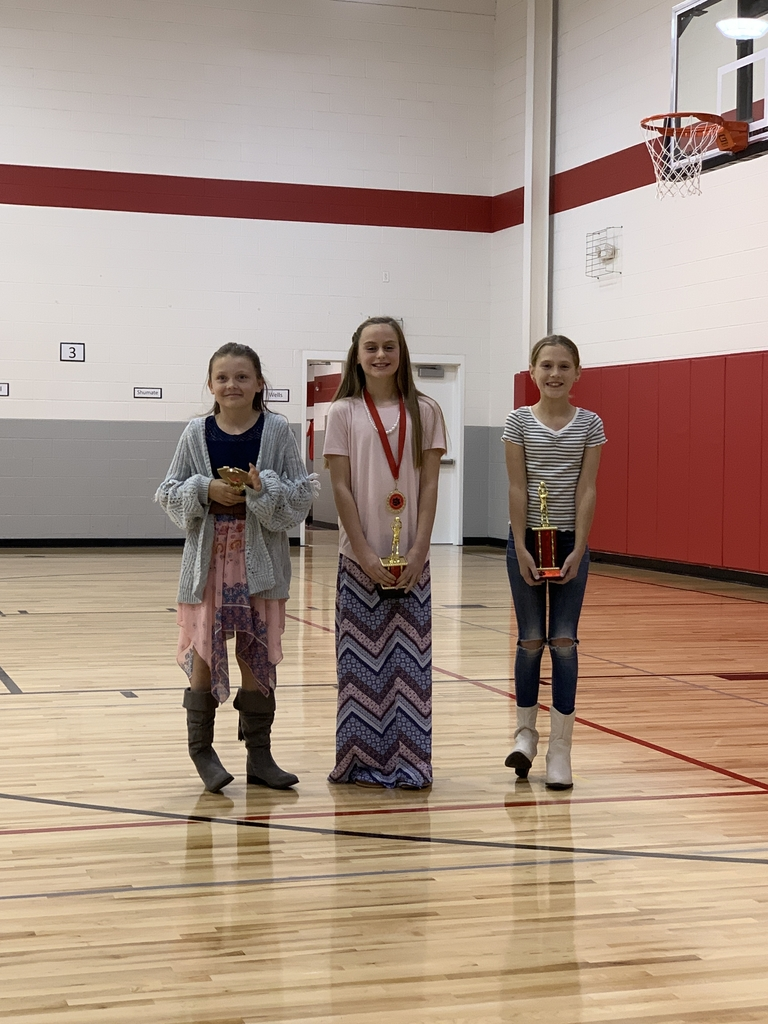 5th grade award winners