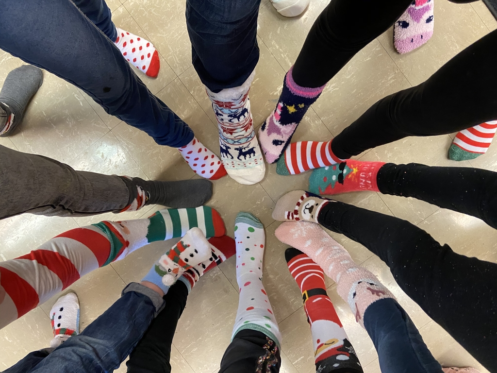 Girl's Christmas Sock Exchange😍So fun!