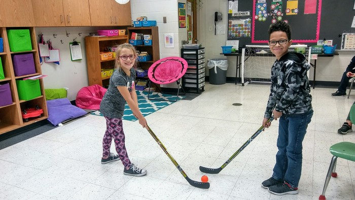 Our two hockey champions face off!